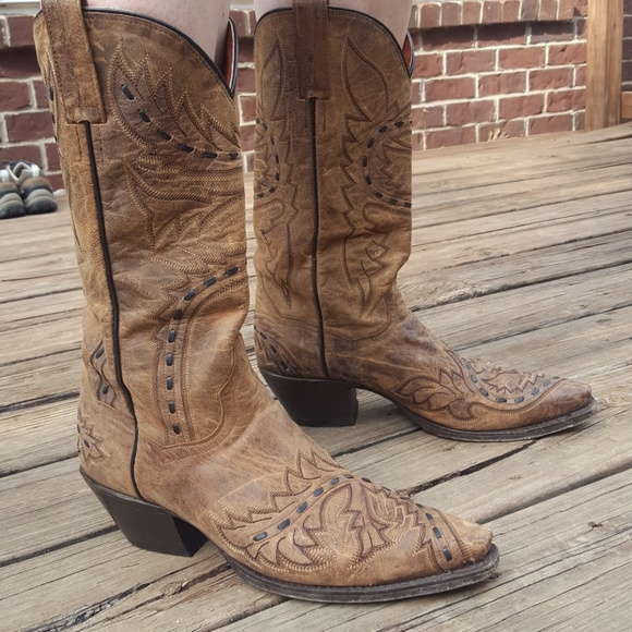 56ac97e1341 Dan Post Sidewinder Mad Cat Cowgirl Boot